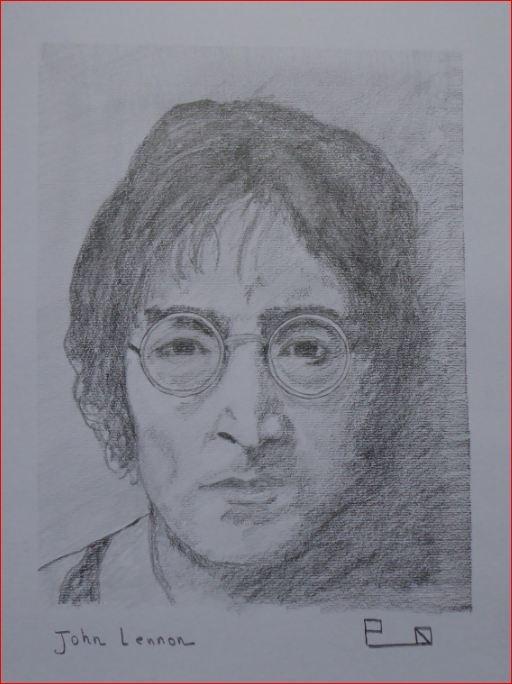 John Lennon par Picapenko